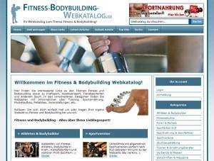 Fitness Bodybuilding Webkatalog